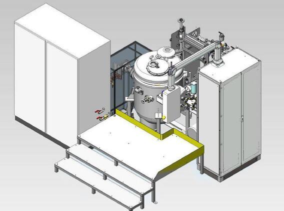 lab use small volume vacuum induction melting furnace