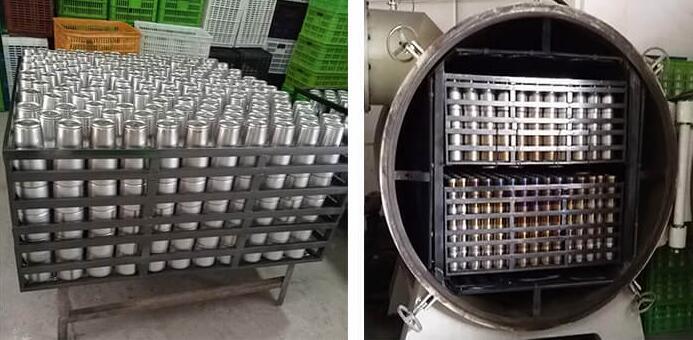 vacuum brazing furnace for insulation pot
