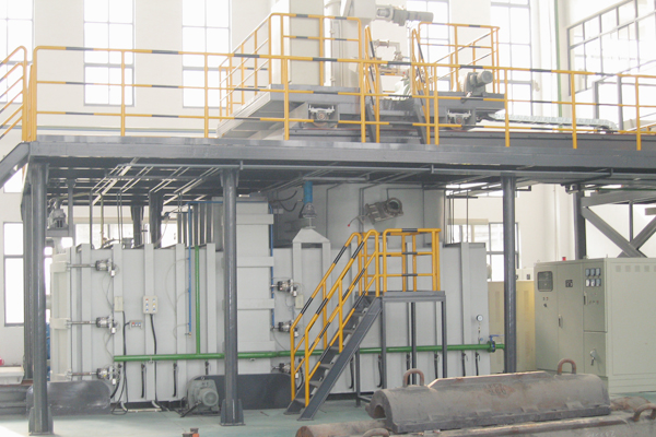Continuous Type Vacuum Induction Melting Furnace