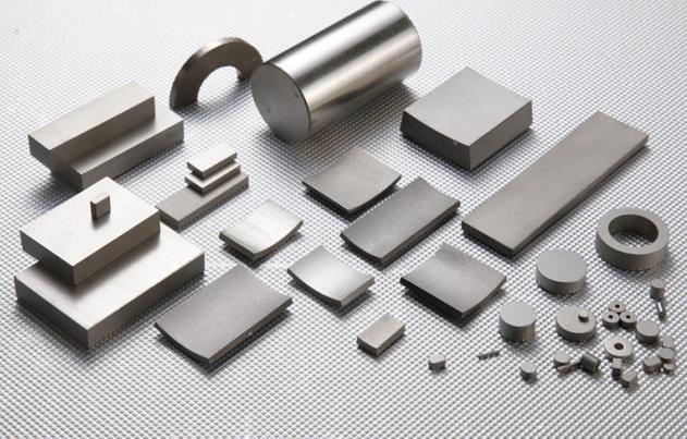Samarium cobalt magnet sintering