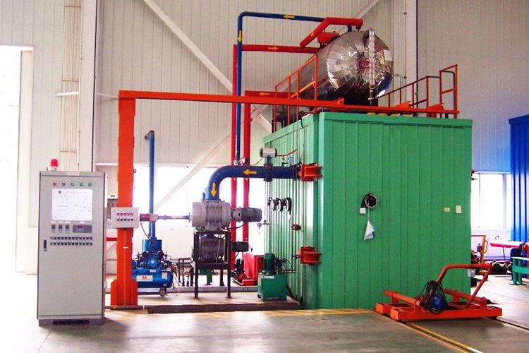 Kerosene vapor phase drying equipment