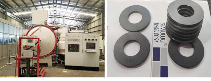 Silicon carbide pressureless sintering furnace